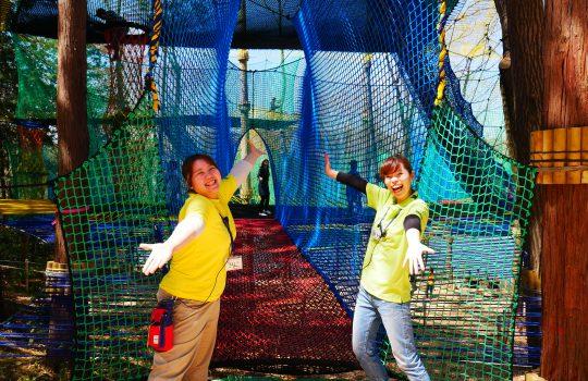 「PANZA宮沢湖」ファンモックが本日オープンしました!