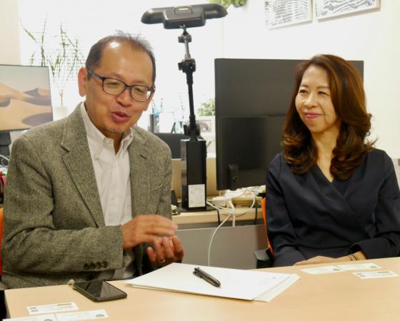 Beingに前野隆司さんマドカさんのインタビューを掲載しました