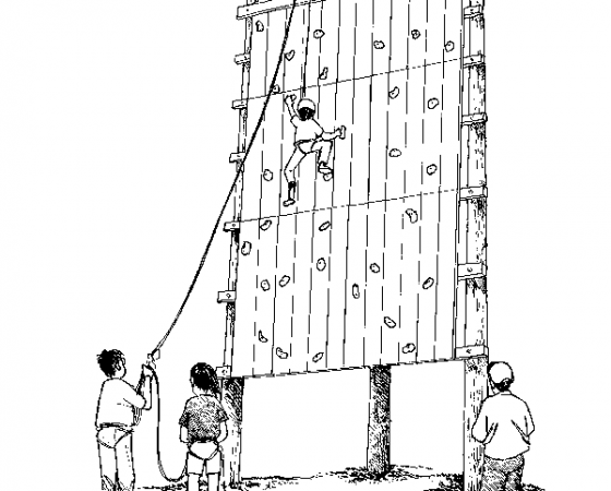 クライミングタワー