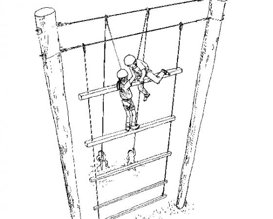 巨人の縄ばしご