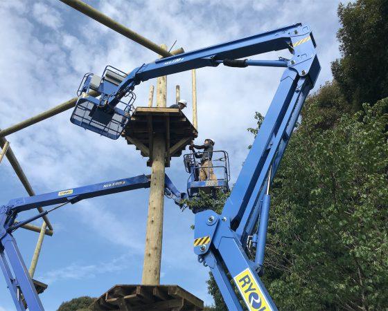 アドベンチャークリエーションコラム:「どうやって高い所に登る?」